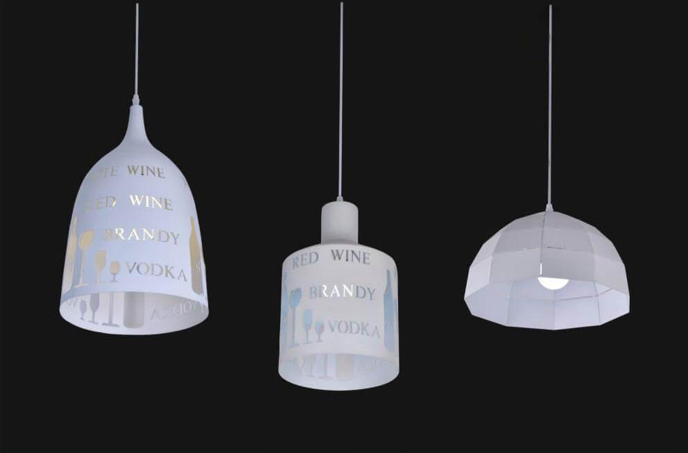 đèn thả quán ăn CT280820H, CT200902H, CT301706H