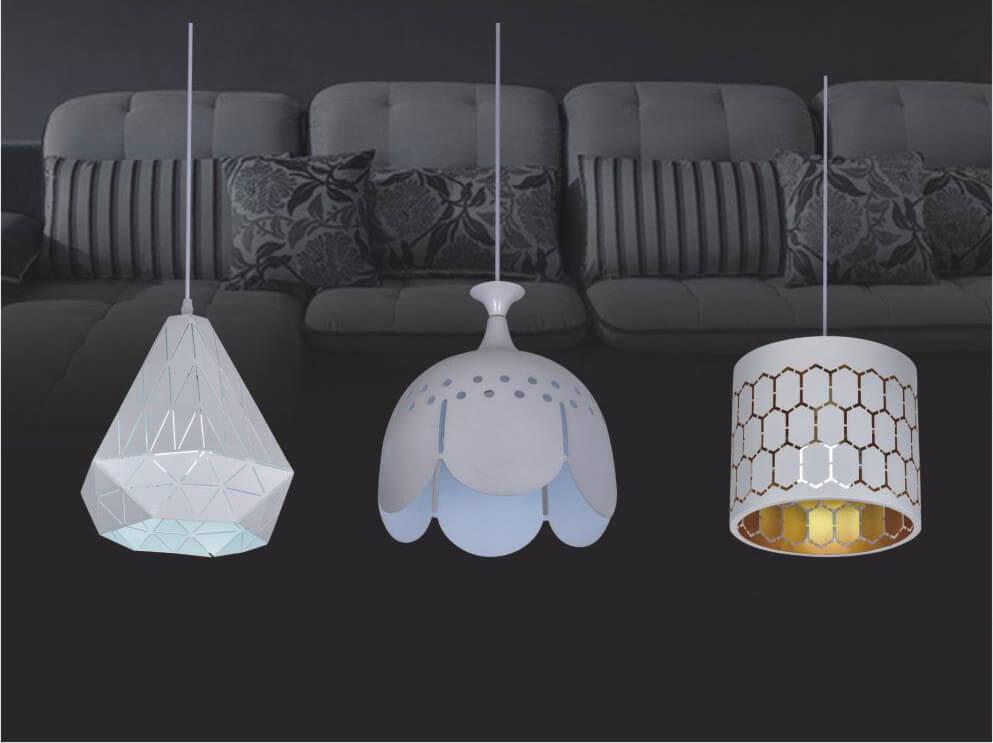 đèn thả trang trí phòng ăn CT150105H, CT251001H, CT260101H