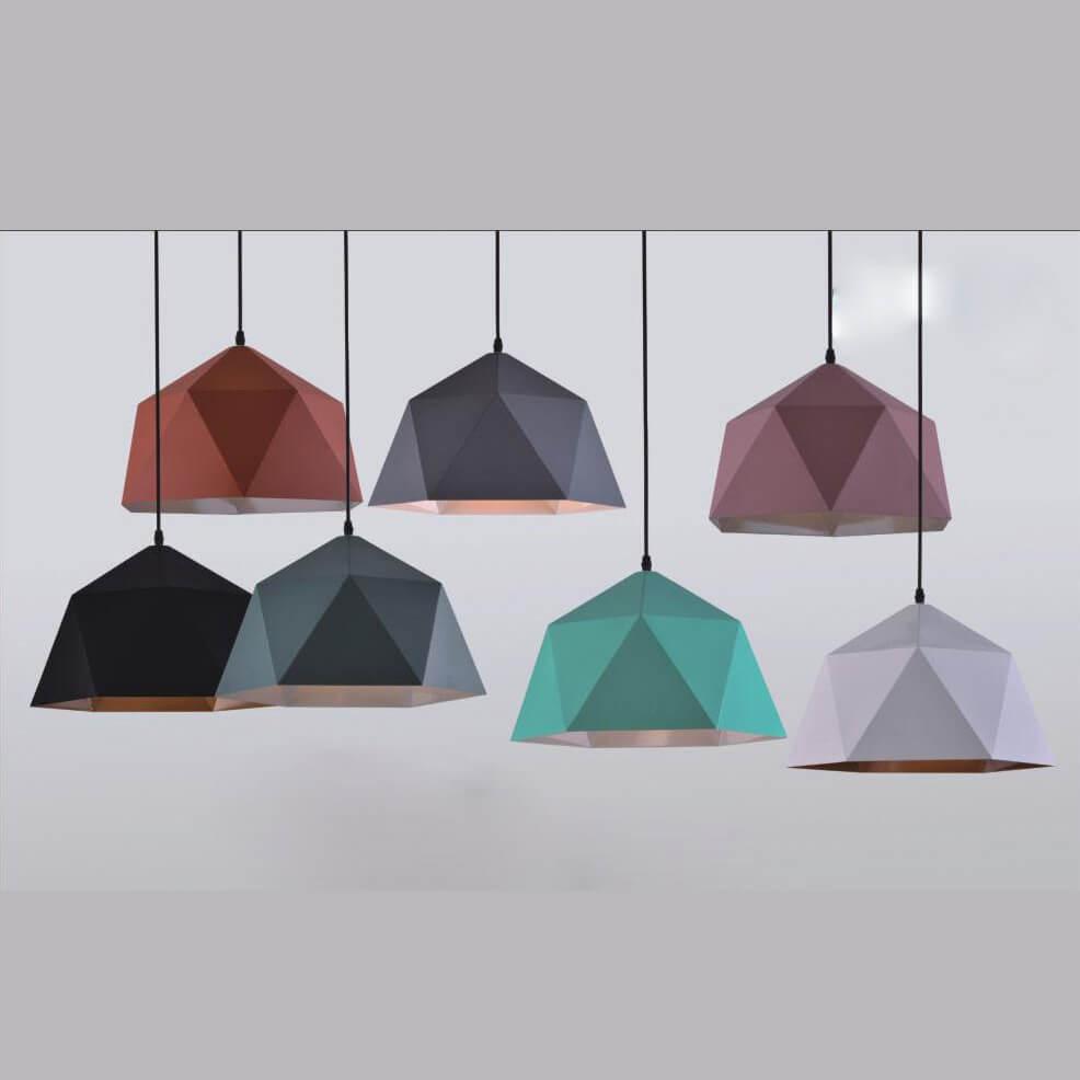 đèn thả trang trí nhiều màu NM126-1