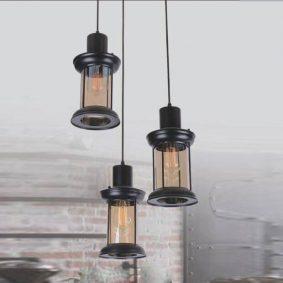đèn thả trang trí quán cafe DCD61223
