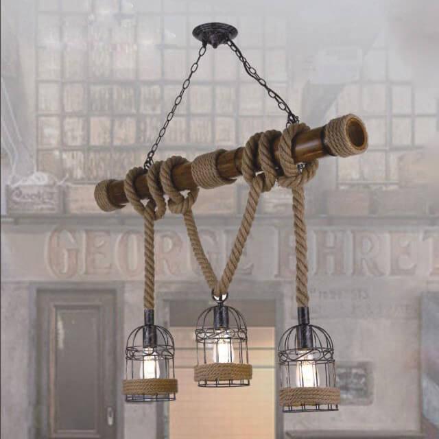 đèn thả quán cà phê cổ điển DTDT1019