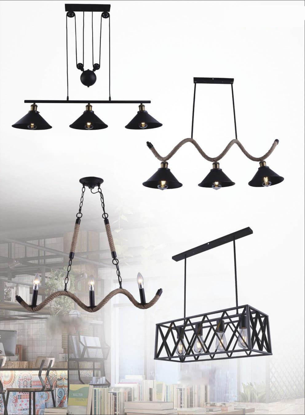 đèn thả trang trí DTRT077-DTDT076-DTDT078-DTRT079