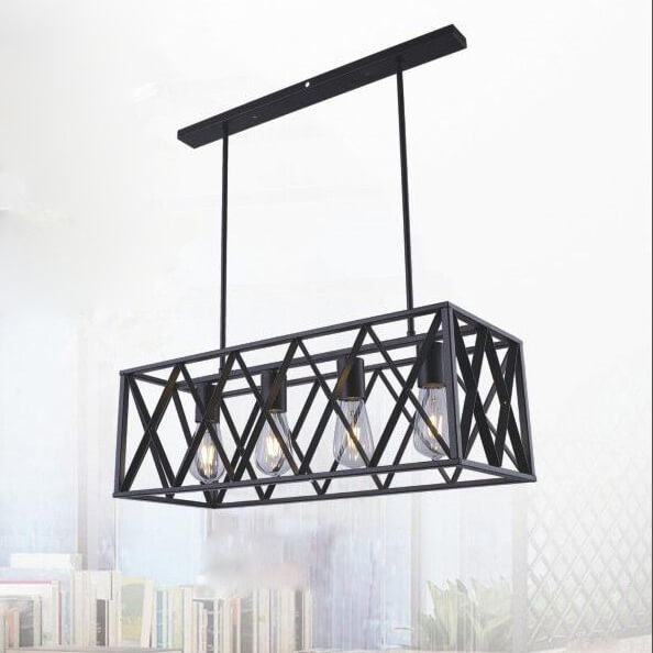 đèn thả cổ điển cho shop DTRT079