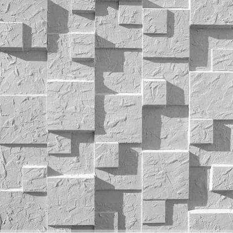 tấm ốp tường 3D xi măng SPN008