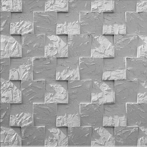tấm ốp tường 3D xi măng SPN014