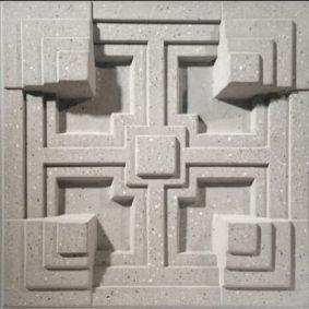 tấm ốp tường 3D xi măng SPN015