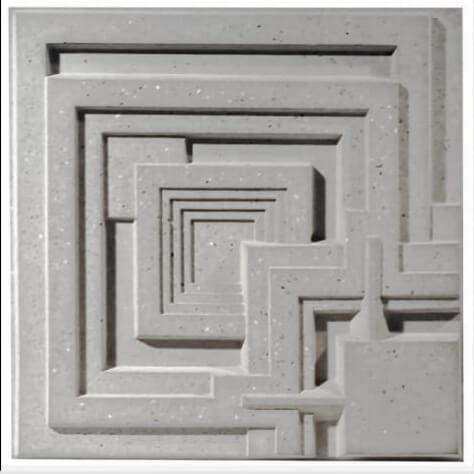tấm ốp tường 3D xi măng SPN018