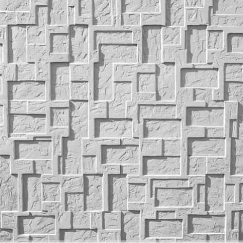 Tấm ốp tường 3D xi măng SPN023