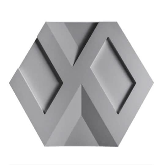 Tấm ốp tường 3D xi măng SPN026
