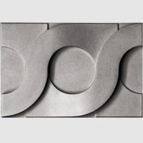Tấm ốp tường 3D xi măng SPN034