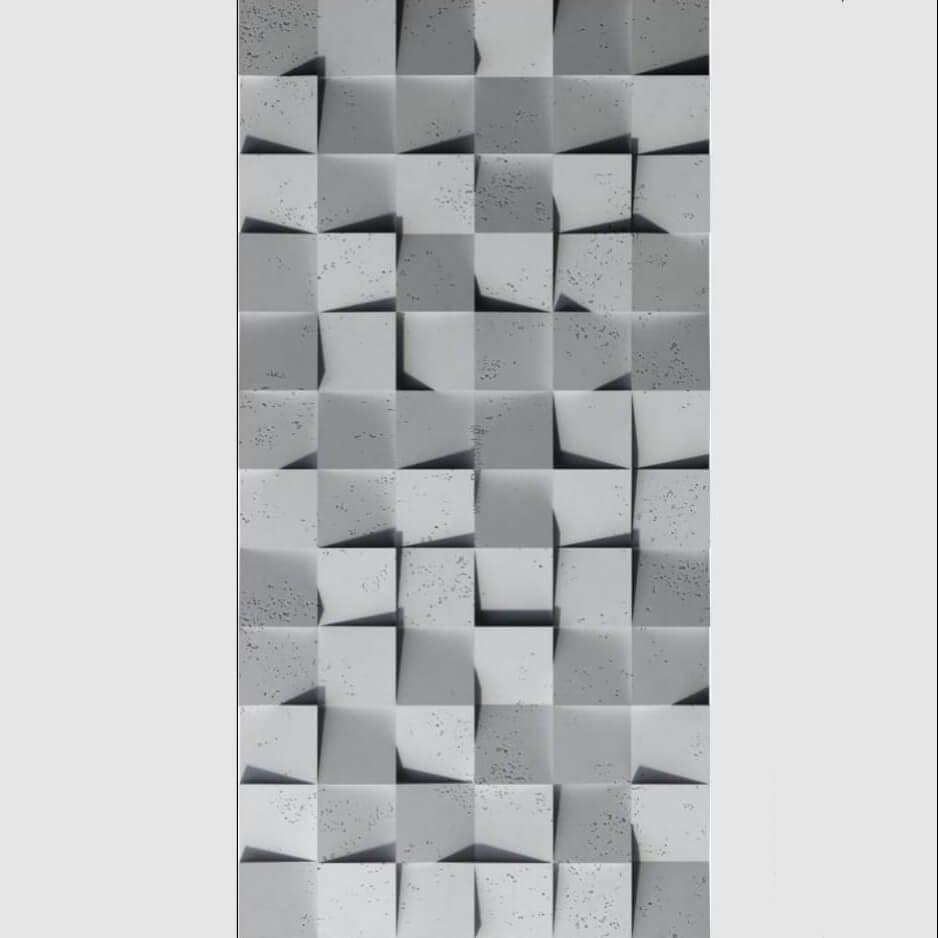 Tấm ốp tường 3D xi măng SPN041