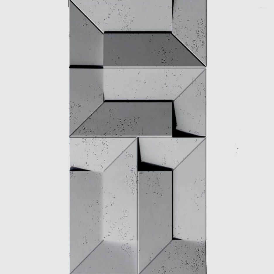 Tấm ốp tường 3D xi măng SPN043