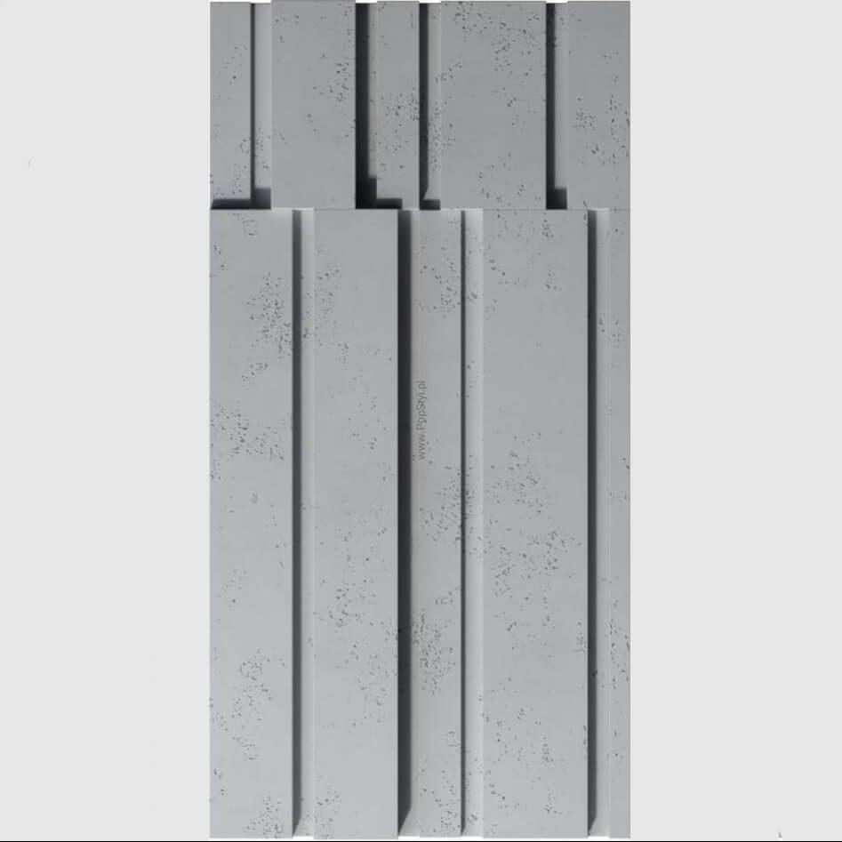 Tấm ốp tường 3D xi măng SPN044