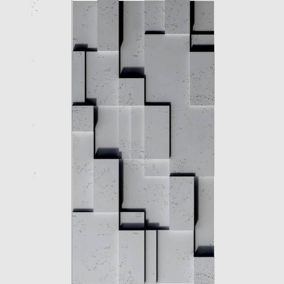 Tấm ốp tường 3D xi măng SPN046