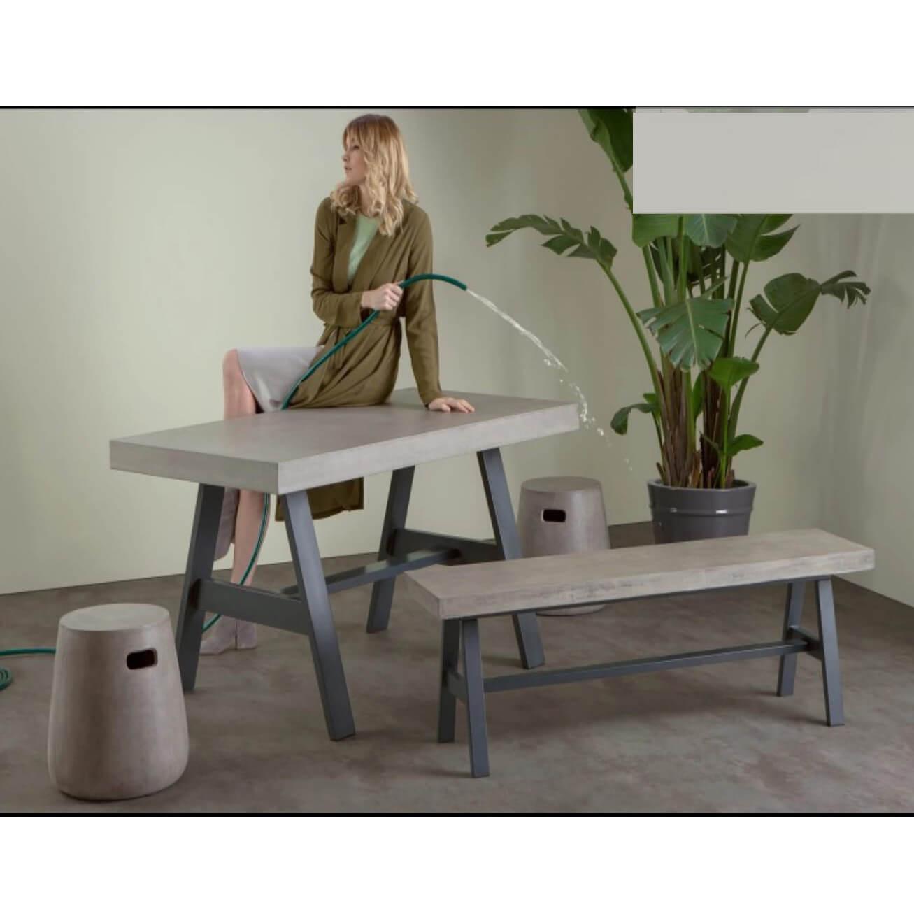 Bộ bàn ghế xi măng nhẹ B11BG