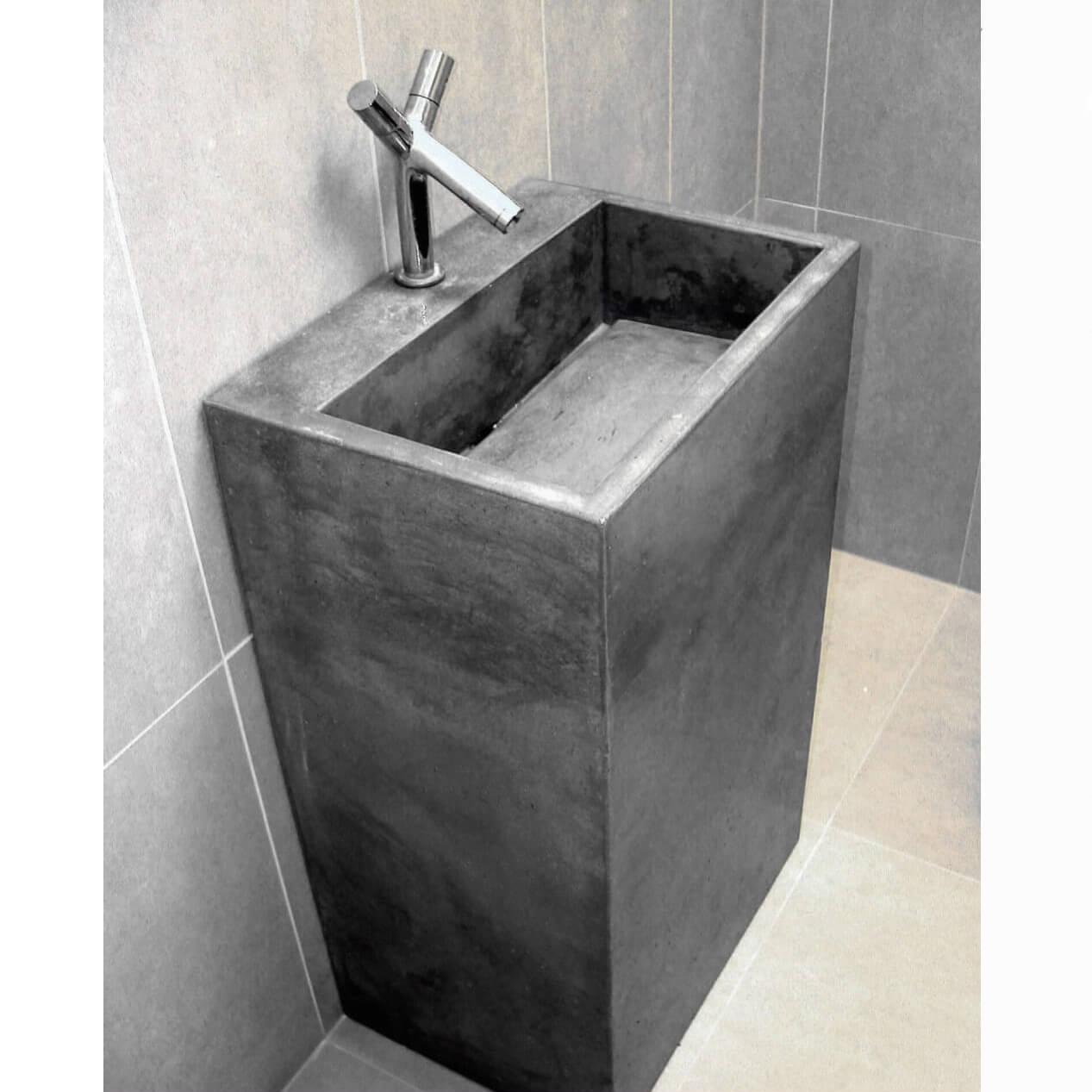 Lavabo beton xi măng LB018