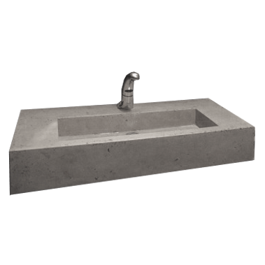 Lavabo beton xi măng LB097
