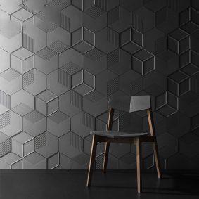 Tấm ốp tường 3D xi măng SPN 047