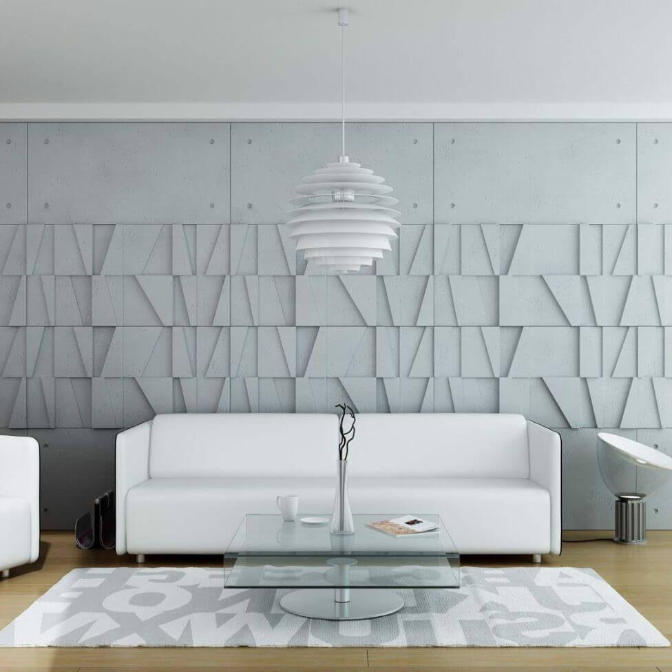 Tấm ốp tường 3D xi măng SPN051