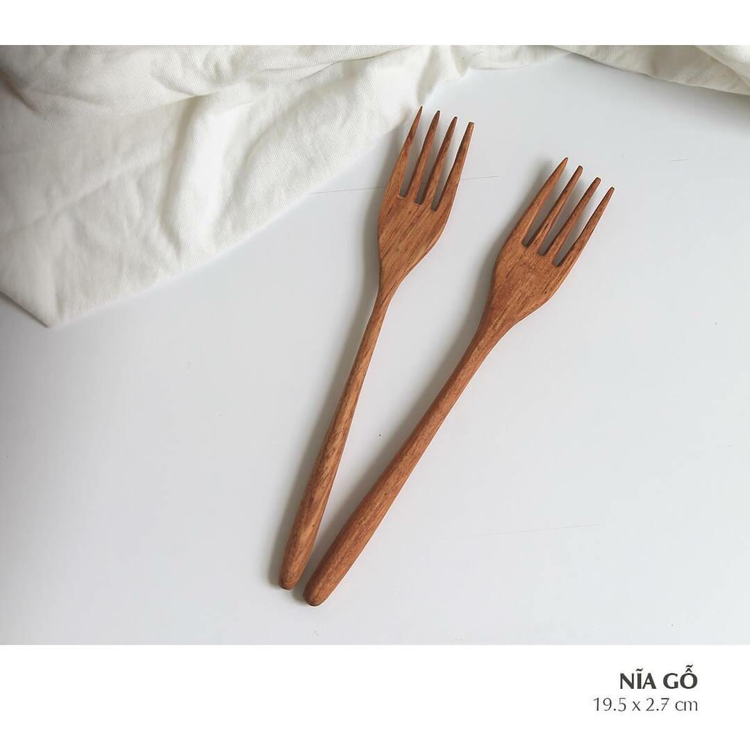 Nĩa gỗ handmade