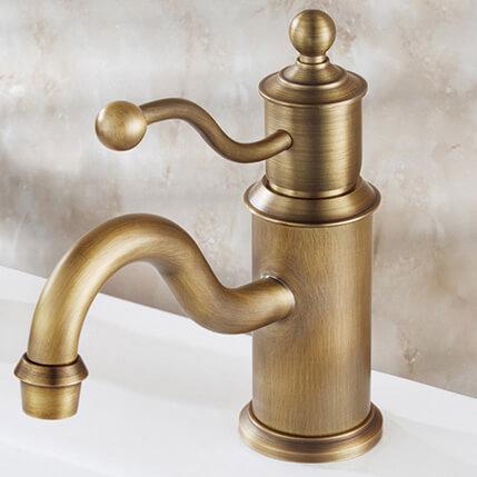 Vòi nước lavabo nóng lạnh, cổ điển GCV08