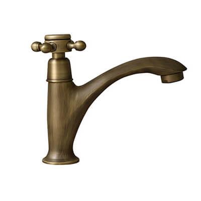 Vòi nước lavabo nóng lạnh, cổ điển GCV109