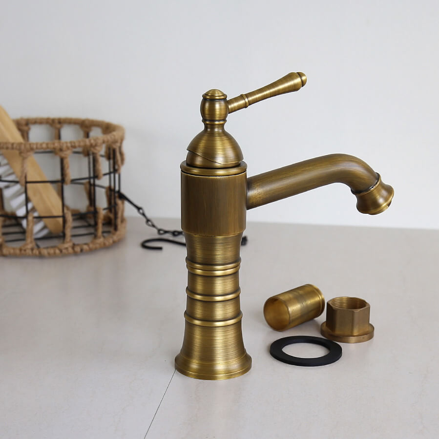 Vòi nước lavabo nóng lạnh, cổ điển GCV13