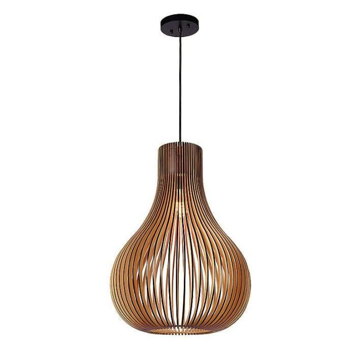 Đèn thả gỗ TVN073