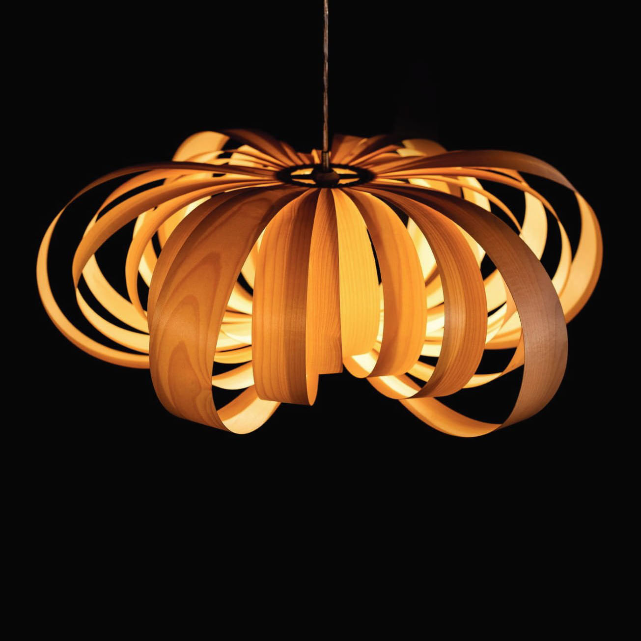 Đèn thả gỗ TVN075