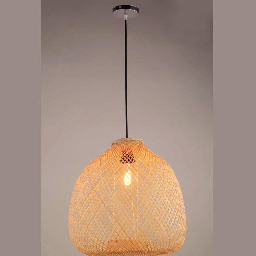 Đèn thả gỗ TVN078