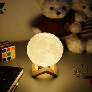 đèn ngủ hình mặt trăng
