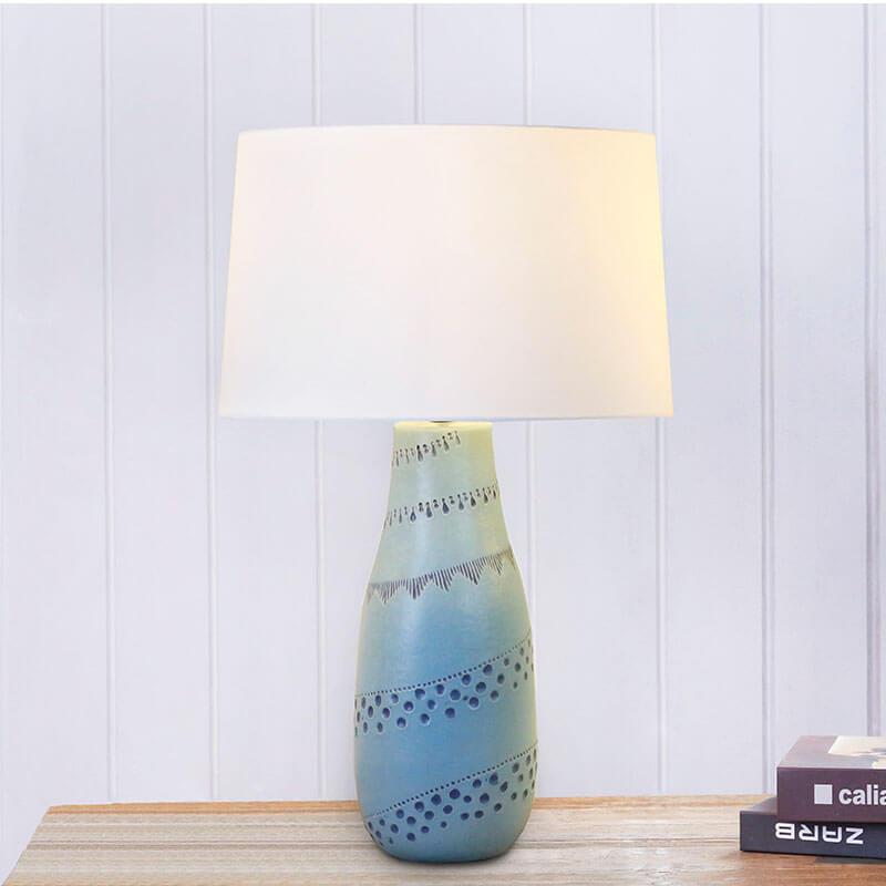 Đèn bàn gốm sứ DBHB02