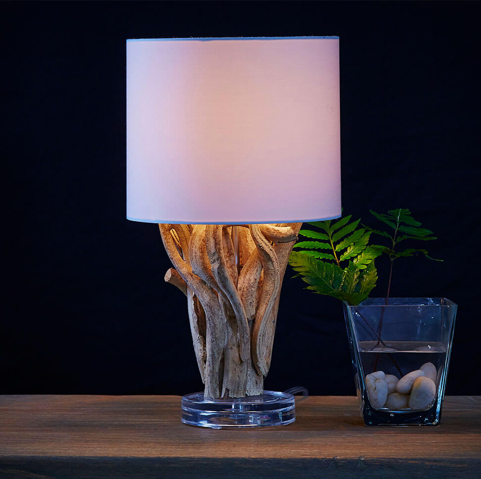 Đèn bàn gỗ handmade DBHB13
