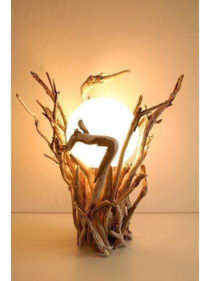 làm đèn ngủ bằng gỗ để bàn hình mặt trăng